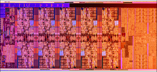 Comet Lake Silicon die.