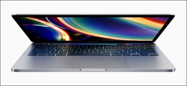 Person considering new 2020 13-inch MacBook Pro to buy