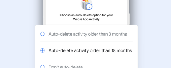How to Make Google Auto-Delete Your Web and Location History