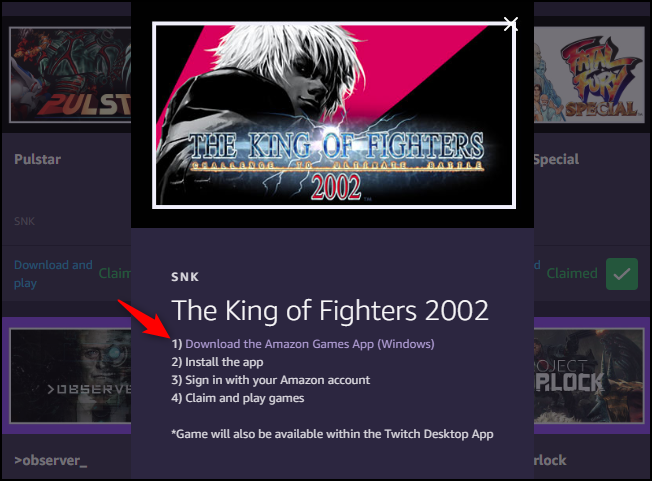 Amazon Games Download