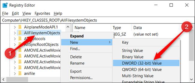 """คลิกขวาที่คีย์และเลือก ใหม่ > ค่า DWORD (32 บิต)  ตั้งชื่อ DWORD DefaultDropBehavior"""" width=""""650″ height=""""278″ onload=""""pagespeed.lazyLoadImages.loadIfVisibleAndMaybeBeacon(this);"""" onerror=""""this.onerror=null;pagespeed.lazyLoadImages.loadIfVisibleAndMaybeBeacon(this);""""></p> <p>ตอนนี้ คลิกสองครั้งที่ค่า DefaultDropEffect ใหม่ ตั้งค่ากล่อง """"ข้อมูลค่า"""" เป็น """"1"""" จากนั้นคลิก """"ตกลง"""" เพื่อปิดหน้าต่าง</p> <p><img class="""