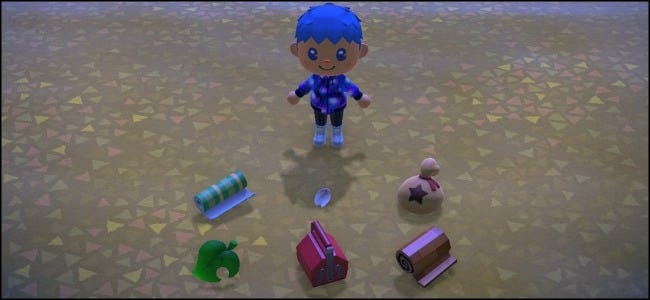 Animal Crossing Dropped Items
