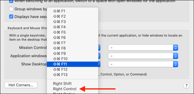 Change Keyboard shortcut for Show Desktop feature