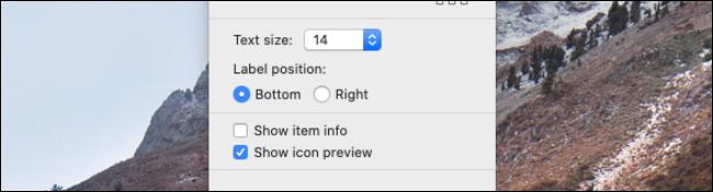 Cambiar el tamaño del texto y otras opciones