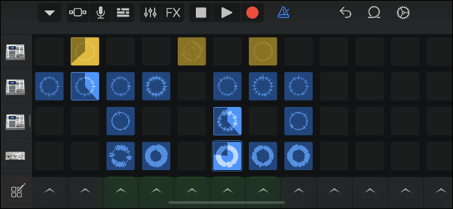 Trigger Samples on a Grid with GarageBand Live Loops