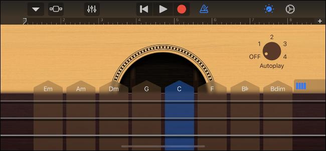 GarageBand Smart Guitar
