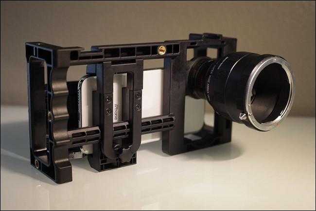 An EnCinema SLR Lens Adapter Kit Mk 2.
