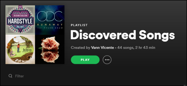 Spotify Rotating Playlist