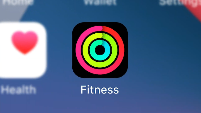 Activity app renamed to Fitness in iOS 14