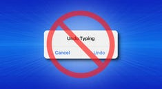 """How to Stop the """"Undo Typing"""" Pop-up on iPhone and iPad"""