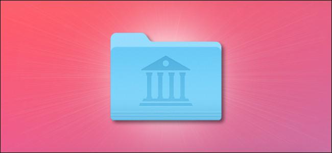 Apple Mac Library Folder Icon