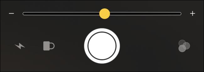 Apple iPhone Magnifier Controls