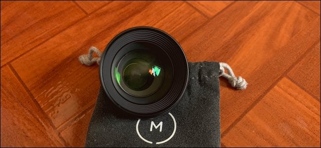 A Moment lens for smartphone photography.