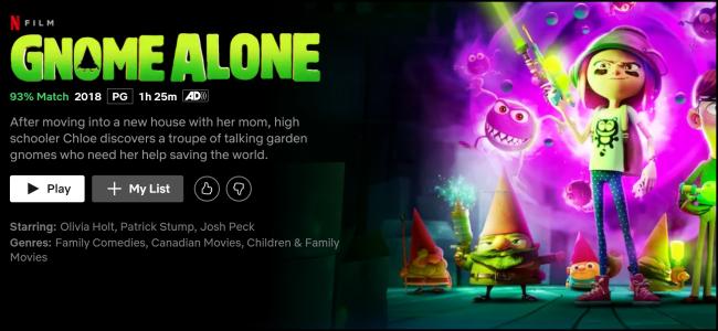 Netflix Original Gnome Solo