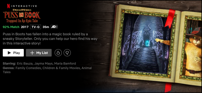 Netflic Original Puss in Books:: Trapped in an Epic Tale
