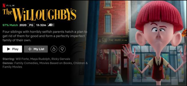 Original de Netflix Los Willoughby