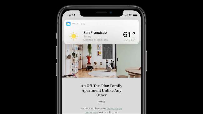 Resultado de la superposición de Siri en iOS 14