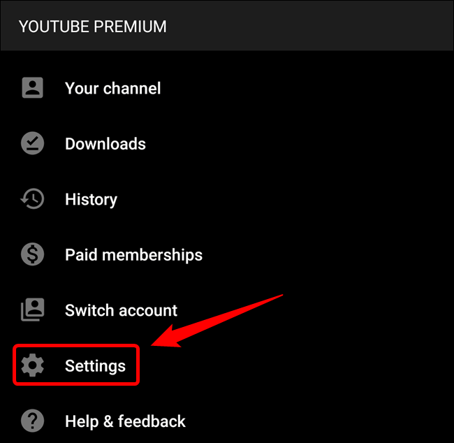 """Tap the """"Settings"""" button"""