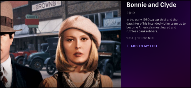 TCM Bonnie and Clyde