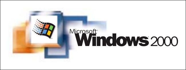 Logotipo de Windows 2000.