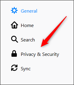 Privacy and security in Firefox