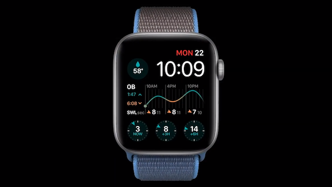 Multiple complications on watchOS 7 watch face