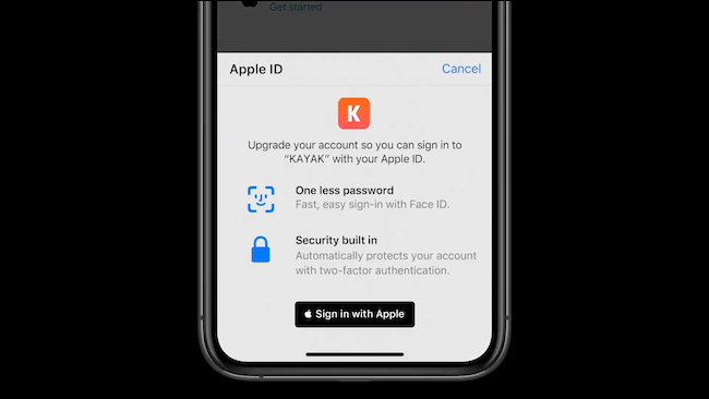 Transfer login to Sign In With Apple