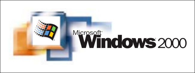 Windows 2000 logo.