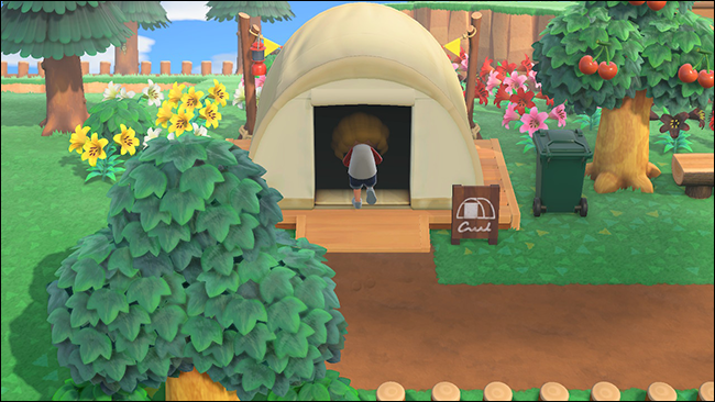 Camping Animal Crossing