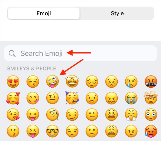 Choose Emoji