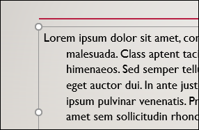 Paragraph with indentation