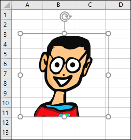 Selected object in Excel