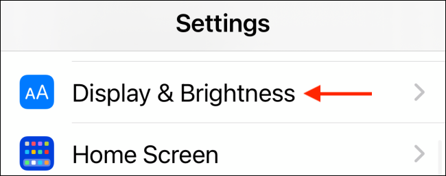 Tap Display and Brightness