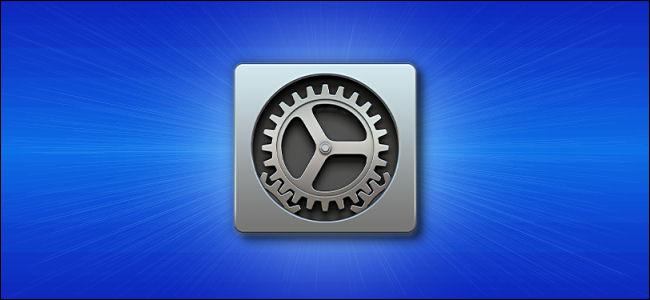 """El icono """"Preferencias del sistema"""" de Mac."""
