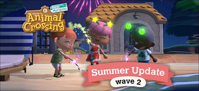 'Animal Crossing: New Horizons' Summer Update Wave 2