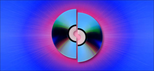 A Simulated Broken CD-R.