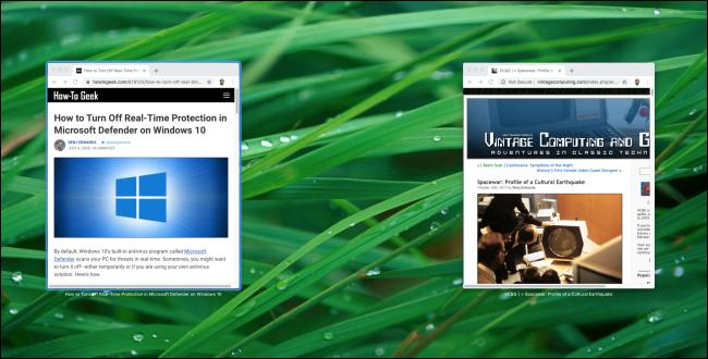 Ver todas las ventanas de aplicaciones abiertas a la vez en una Mac