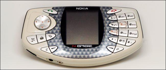 A Nokia N-Gage device.