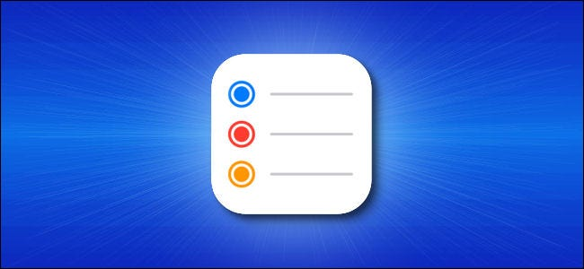 The iPhone Reminders icon.