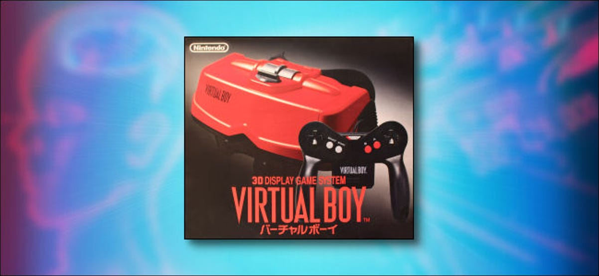 A Japanese Virtual Boy Box.