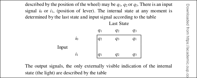 "A diagram of ""Input"" and ""Last State"" from the Turing PDF."