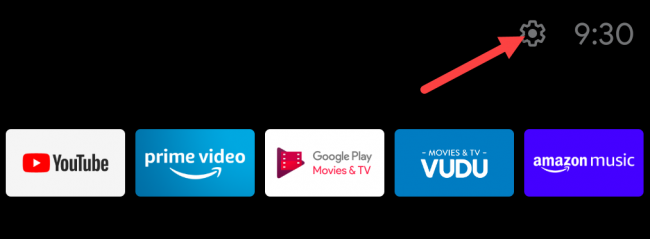 android tv settings