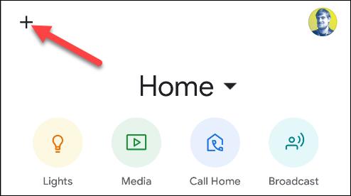 google home add new