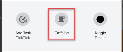 android caffeine toggle