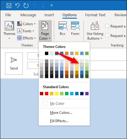 Select a color.