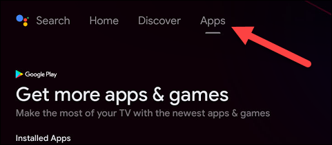 """To see all of your apps in one place, you can go to the """"Apps"""" page."""