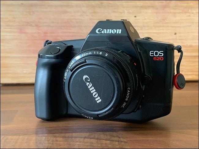 A Canon EOS 620.
