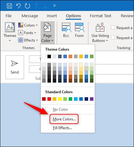 """Click """"More Colors."""""""
