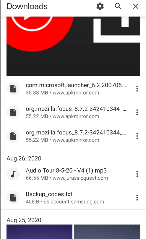 chrome for android downloads page