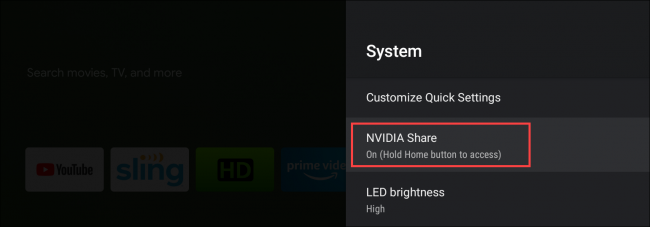 nvidia shield tv nvidia share